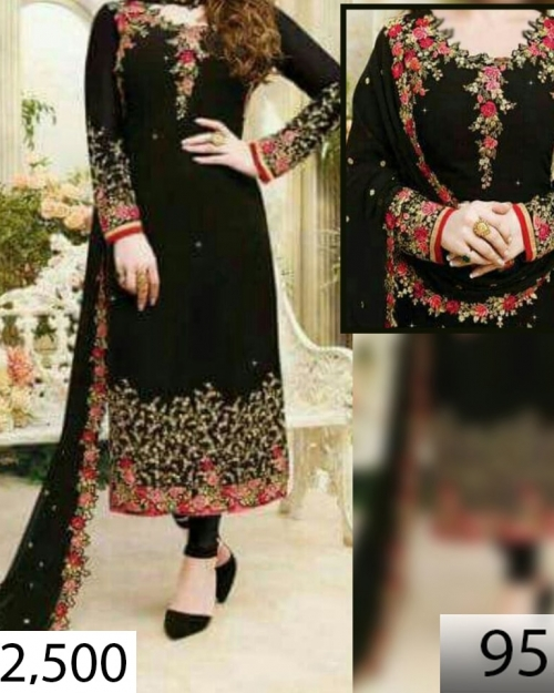 dfaebcff54 Unstitched Embroidered Dresses Online Shopping in Pakistan | Shaz.pk
